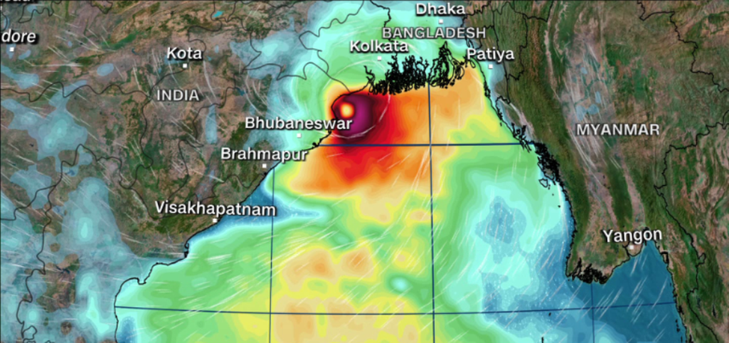 Cyclonic storm Yas likely to cross north Odisha and West Bengal coasts at 155 kmph on May 26 afternoon