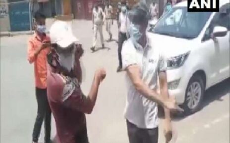 Chhattisgarh collector slaped young man, said he refuses to obey covid rules when video goes viral asked apology