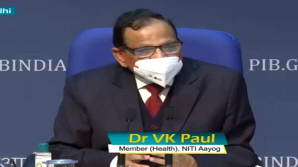 NITI Aayog member VK Paul's statement Two doses of different COVID-19 vaccines are not cause for concern