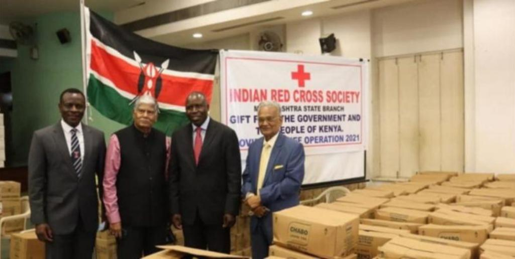Kenya donates tea, coffee and peanuts as pandemic aid to India for frontline worker