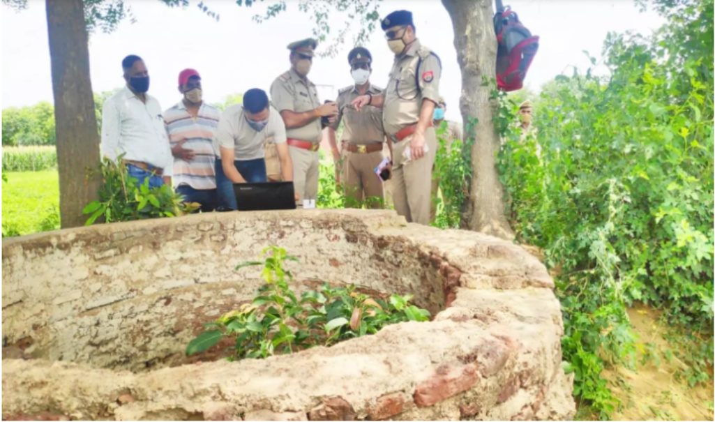 Battery rickshaw driver 16-year-old teenager along with tempo disappeared, dead body found in well, stir in village