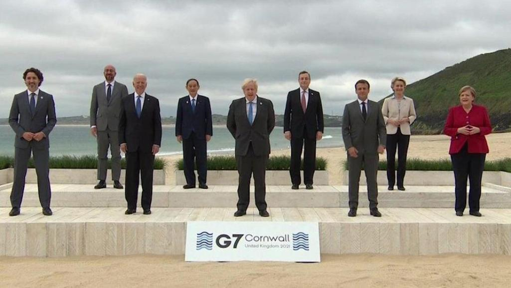 G7 Adopts Global Infra Plan In Pushback To China's 'Belt And Road'