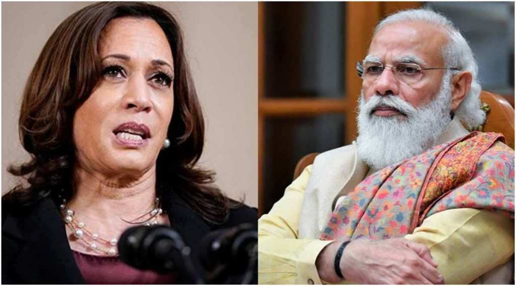 Kamala Harris calls up PM Modi, says America will share vaccines with India by the end of June