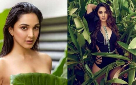 Kiara was seen topless in the photo, got a photoshoot done for the 2021 calendar of photographer Dabboo Ratnani