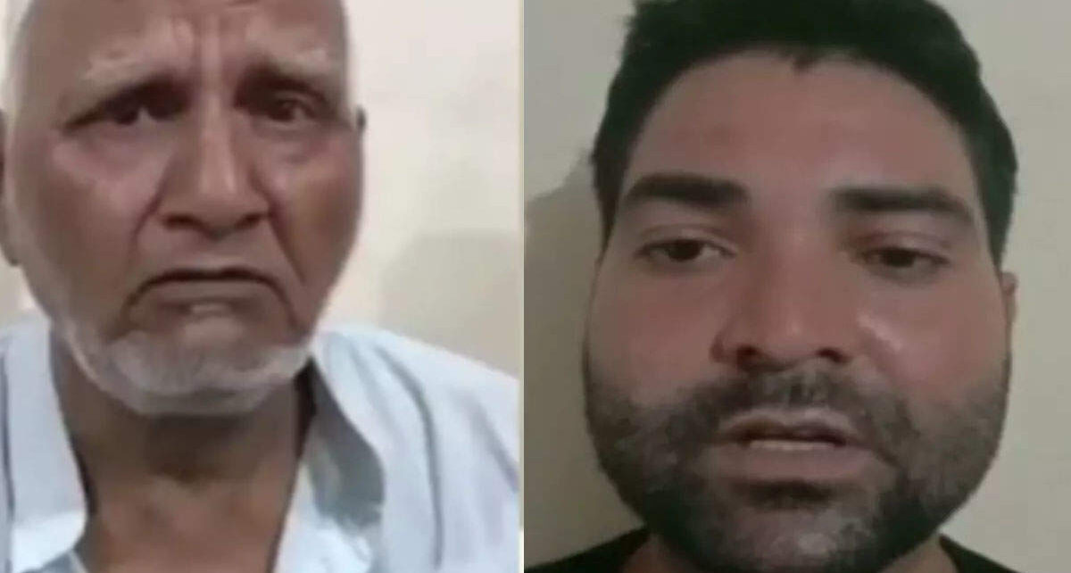 UP Police's Twitter notice on viral video after beating elderly man in Ghaziabad's Loni, sought reply