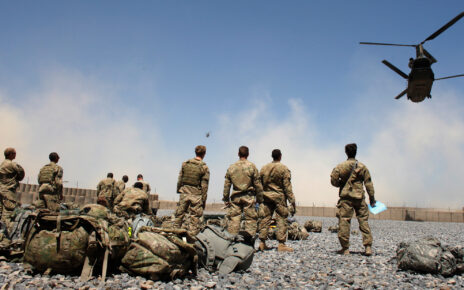 America left Afghanistan's main base, returning after almost 20 years