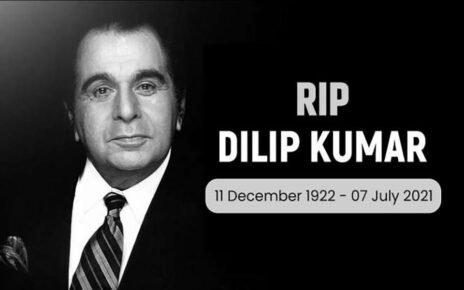 Actor Dilip Kumar passed away this morning, fans say 'goodbye' with tearful eyes