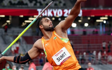 India's athlete Sumit Antil gave a scintillating performance and won the second gold medal in javelin throw