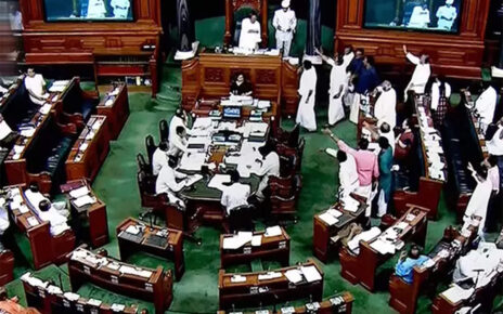 The chairman became emotional over the uproar in the Rajya Sabha, said yesterday all the sanctity of the house was destroyed