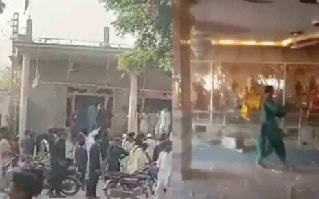 Hindu temple attacked once again in Pakistan's Punjab province, court took cognizance, India also reprimanded