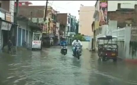4 people died due to electrocution in water in Ghaziabad, heavy rain continues in Delhi-NCR