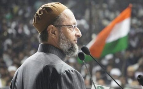 Another case to be filed against AIMIM President, insult to the national flag in Owaisi's meeting
