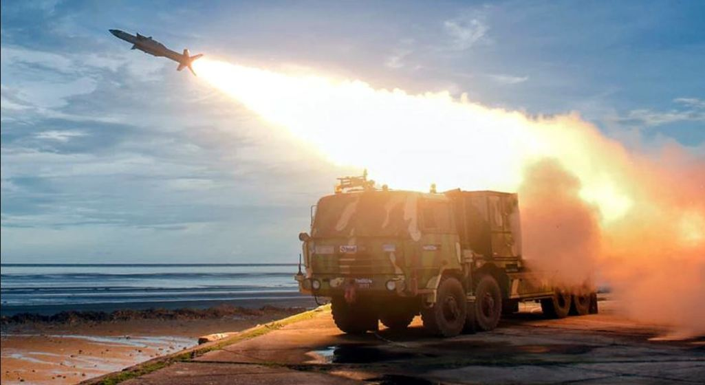Able to shoot down enemy attacks in the air, Akash Prime was successfully tested