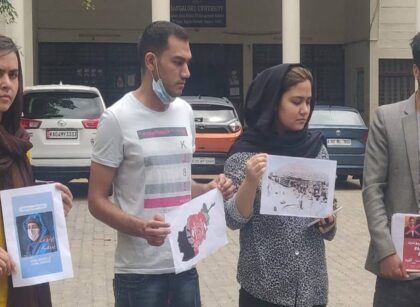 Afghan students do not want to go to their homeland due to Taliban, request for extension of visa to the Ministry of Home Affairs