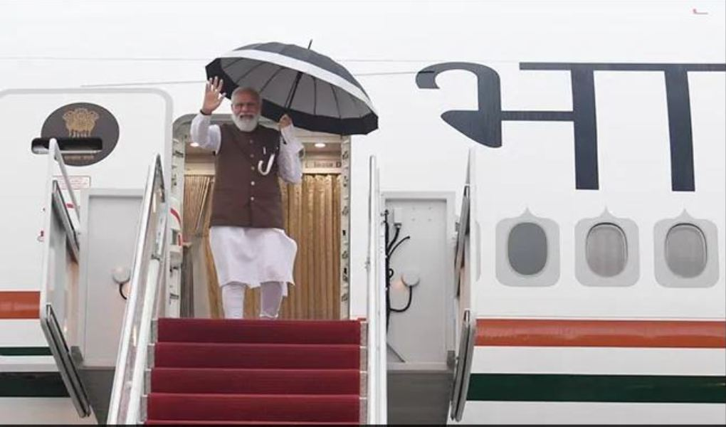 PM Modi currently on US tour, meets Cristiano R. Amon in Washington DC