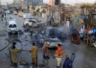 Five Pakistani soldiers killed in two separate attacks in Khyber Pakhtunkhwa on Wednesday