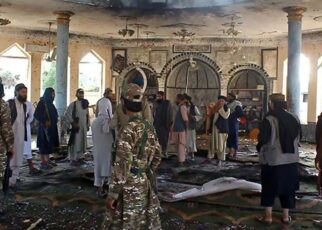 Terrorists targeted the people of Shia community, bombed a mosque in Kandahar