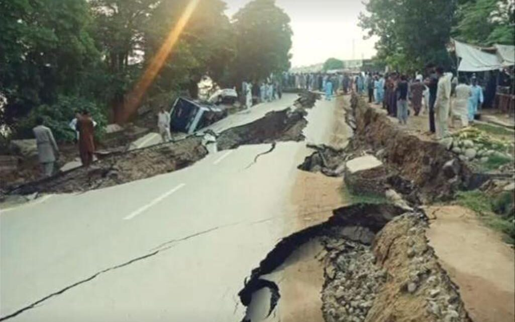 Strong earthquake tremors in Pakistan this morning, earthquake magnitude 6.0 on Richter scale