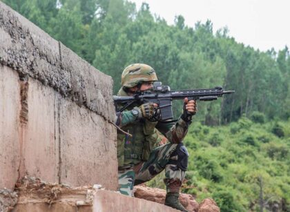 Encounter between security forces and terrorists in Jammu and Kashmir's Drangbal early Saturday